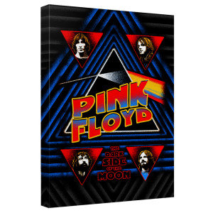 Pink Floyd/Funkside -Canvas Wall Art With Back Board-White-[20 X 30]