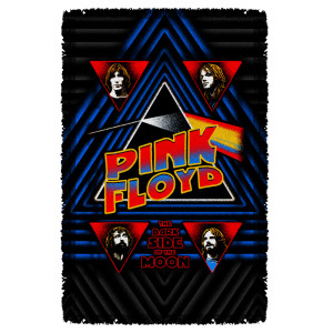 Pink Floyd/Funkside -Woven Throw-White-[36 X 58]