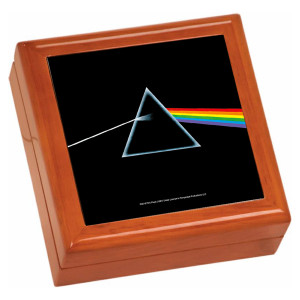 The Dark Side Of The Moon Wooden Keepsake Box