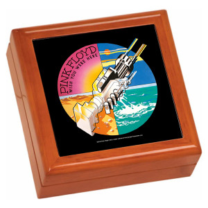 WYWH Robotic Handshake Wooden Keepsake Box