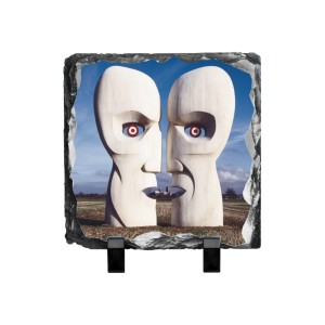 Division Bell Stone Heads Photo Slate