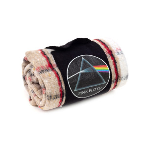 The Dark Side Of The Moon Striped Blanket