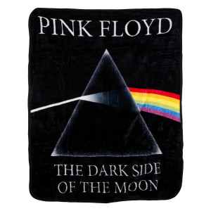 Pink Floyd The Dark Side Of The Moon Coral Throw