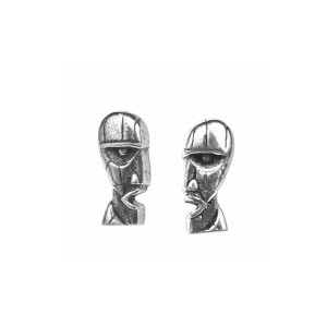 Division Bell Stud Earrings