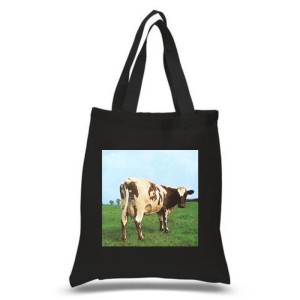Atom Heart Mother Black Tote Bag
