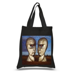 The Division Bell Black Tote Bag