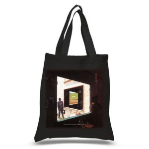 Echoes Black Tote Bag