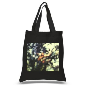 Obscured By Clouds Black Tote Bag