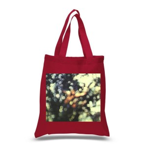 Obscured By Clouds Red Tote Bag