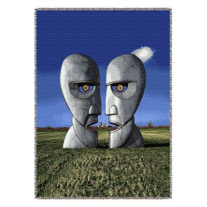 Division Bell Throw Blanket