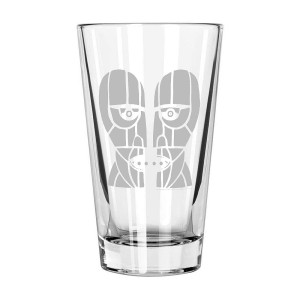 Division Bell Laser-Etched Pint Glass