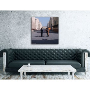 Wish You Were Here Canvas Wall Art