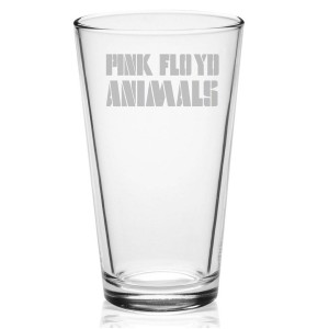Animals Logo Etched Pint Glass