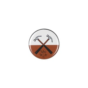 Crossed Hammers Button