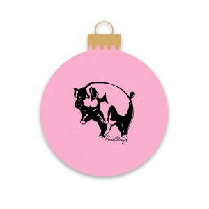 Animals Pig Holiday Ornament