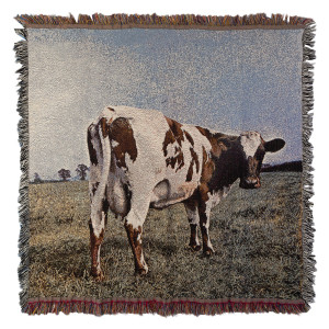 Atom Heart Mother Throw Blanket