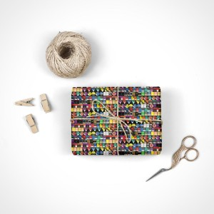 Pink Floyd Endpapers Wrapping Paper