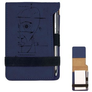 Schematic Mini Notepad w/Pen