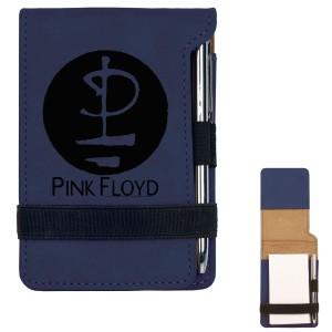 Modern Logo Mini Notepad w/Pen