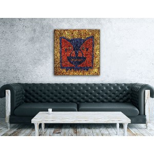 Division Bell Red Wall Art