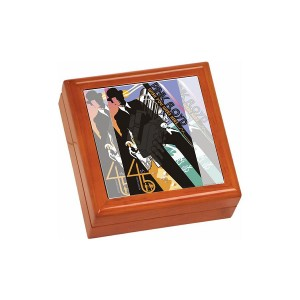 Wish You Were Here 45th Anniversary Wooden Keepsake Box