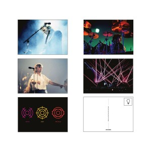 Pink Floyd Delicate Sound of Thunder Postcard Set