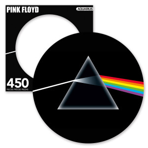 Pink Floyd The Dark Side of the Moon 450 Piece Picture Disc Puzzle