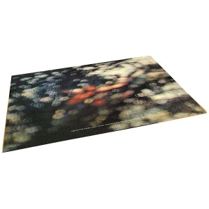 Obscured By Clouds Glass Cutting Board