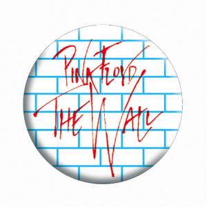 """Pink Floyd The Wall 1.25"""" Button"""