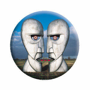 """Pink Floyd Division Bell 1.25"""" Button"""