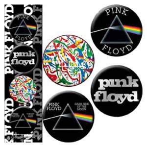 "Pink Floyd Logo 4 Pack 1.25"" Button Set"