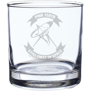Still First In Space Laser-Etched Whiskey Glass
