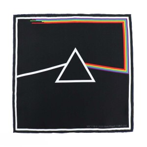 Pink Floyd The Dark Side of the Moon Pocket Square