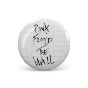 Roger Waters Brick Wall Logo Button