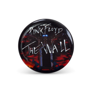 Roger Waters Brick Wall Hammers Button