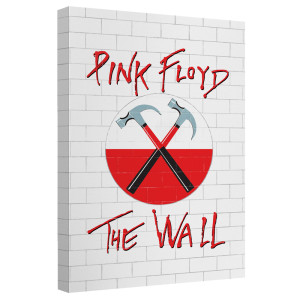 Roger Waters/The Wall-Canvas Wall Art With Back Board-White-[20 X 30]