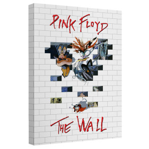 Roger Waters/The Wall 2-Canvas Wall Art With Back Board-White-[20 X 30]
