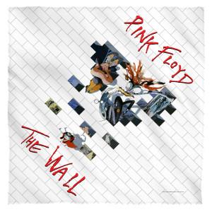 Roger Waters/The Wall 2-Bandana-White-[22 X 22]