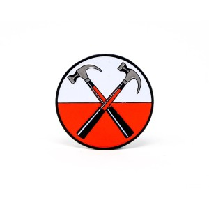 Roger Waters Hammers Logo Pin