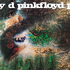 "Pink Floyd Saucer 4""x4"" Sticker"