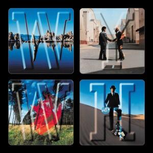 """Pink Floyd WYWH Collage 4""""x4"""" Sticker"""