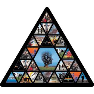 "Pink Floyd Triangle 4.5""x5.3"" Sticker"