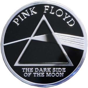 """Pink Floyd DSOM 3.125"""" Round Metal Sticker"""