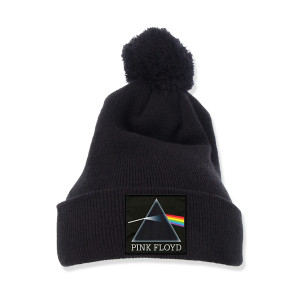 Pink Floyd Pom-Pom Knit Beanie