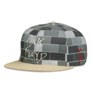 Pink Floyd The Wall Gray Fitted Hat