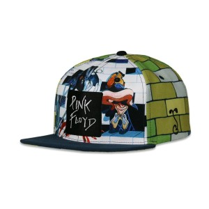 Pink Floyd The Wall White Snapback Hat