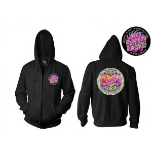 Nick Mason's Saucerful of Secrets Live at the Roundhouse Black Zip Hoodie