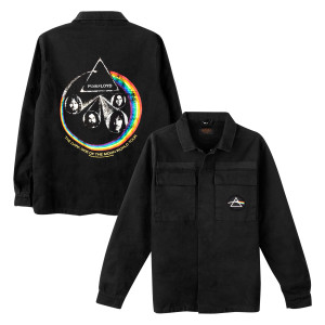 Pink Floyd The Dark Side Of The Moon Canvas Jacket