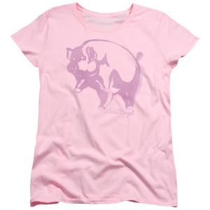 Pink Animal Womens Logo