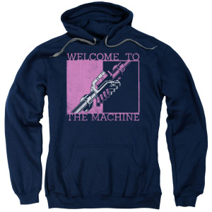 Welcome to the Machine Navy Logo